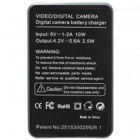 SEIWEI Charger Baterai Travel Sony RX100 AS15 H400 HX300 - NP-BX1 - Black - 2