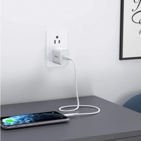 CHOETECH Travel Charger USB Type C PD Charging 20W - PD5005 - White - 8
