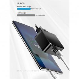 MCDODO Charger USB 2 Port Qualcomm QC3.0 + PD 30W - TC-035 - Black - 10