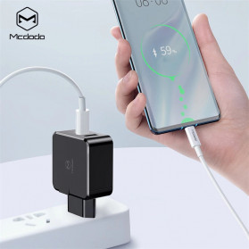 MCDODO Charger USB 2 Port Qualcomm QC3.0 + PD 30W - TC-035 - Black - 3
