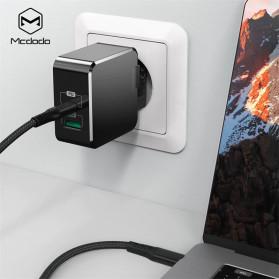 MCDODO Charger USB 2 Port Qualcomm QC3.0 + PD 30W - TC-035 - Black - 5