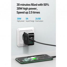 MCDODO Charger USB 2 Port Qualcomm QC3.0 + PD 30W - TC-035 - Black - 8