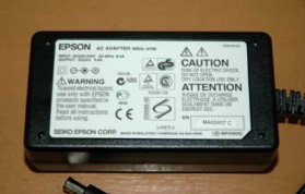 Adaptor Printer Epson 24V 0.8A - Black