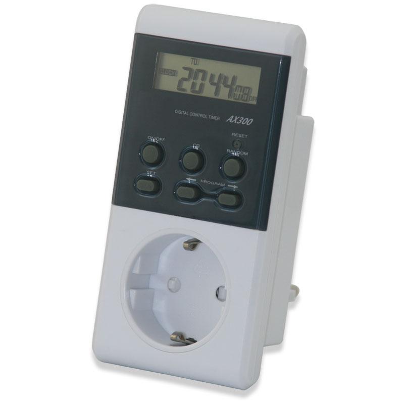 Taffware Digital Timer Switch Ax300 White