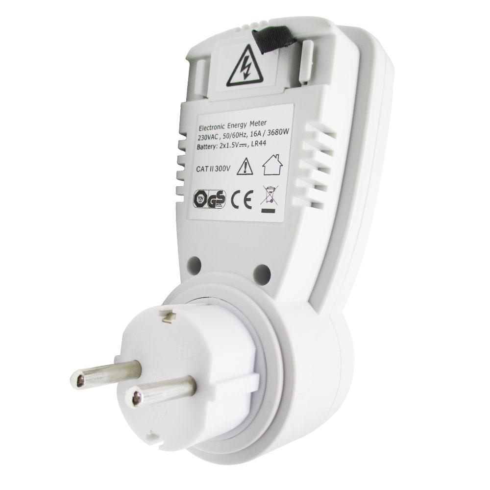 Taff Energy Power Meter Dem1499 White