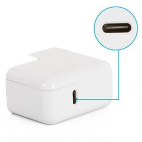 Apple 29W MagSafe Power Adapter  Type C A1540 - White - 3