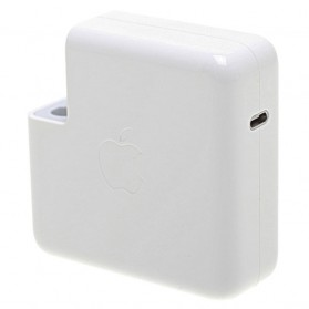 Apple 61W MagSafe Power Adapter Type C Original - A1718 - White