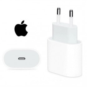 Apple Charger USB Type C 20W for iPhone 12 Pro Max - White