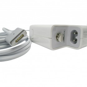 Apple 60W MagSafe 2 Power Adapter A1435 T Tip - White - 2