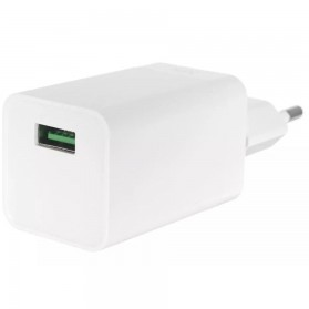 Oppo Vooc Quick Charger USB Travel Adapter 4A EU Plug - AK779GB - White - 2