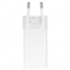 Oppo Vooc Quick Charger USB Travel Adapter 4A EU Plug - AK779GB - White - 4