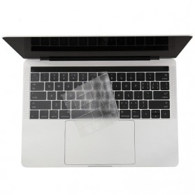 TPU Keyboard Cover for Macbook Air 13 Inch A1932 - 4WC3P - Transparent - 1