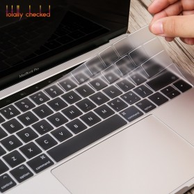 TPU Keyboard Cover for Macbook Air 13 Inch A1932 - 4WC3P - Transparent - 2