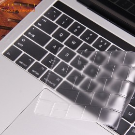 TPU Keyboard Cover for Macbook Air 13 Inch A1932 - 4WC3P - Transparent - 3