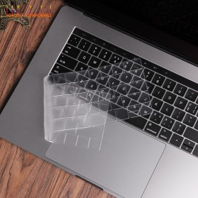 TPU Keyboard Cover for Macbook Air 13 Inch A1932 - 4WC3P - Transparent - 4