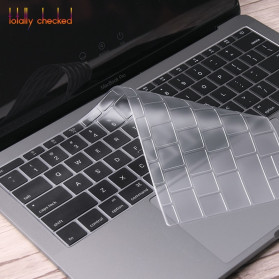 Silicone Keyboard Cover for Macbook Pro 13 A1708 2016 2017 without Touchbar Macbook 12 Retina - 4H8YF - Transparent - 3