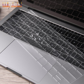 Silicone Keyboard Cover for Macbook Pro 13 A1708 2016 2017 without Touchbar Macbook 12 Retina - 4H8YF - Transparent - 4