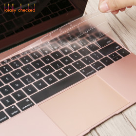 Silicone Keyboard Cover for Macbook Pro 13 A1708 2016 2017 without Touchbar Macbook 12 Retina - 4H8YF - Transparent - 5