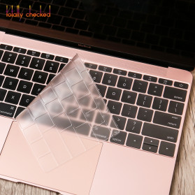 Silicone Keyboard Cover for Macbook Pro 13 A1708 2016 2017 without Touchbar Macbook 12 Retina - 4H8YF - Transparent - 6