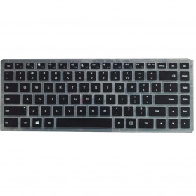 Silicone Keyboard Cover for Laptop Windows - Black