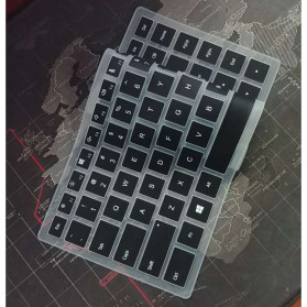 Silicone Keyboard Cover for Laptop Windows - Black - 2