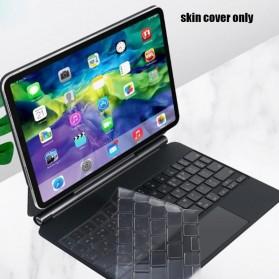 TPU Keyboard Cover Protector Skin for Apple Magic Keyboard iPad Pro 12.9 Inch 2020 - Transparent - 1