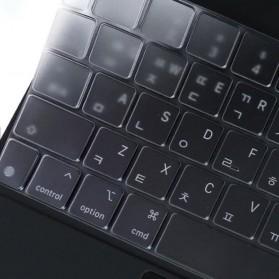 TPU Keyboard Cover Protector Skin for Apple Magic Keyboard iPad Pro 12.9 Inch 2020 - Transparent - 5