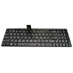 Keyboard Asus F55 K55 K55A K55DR K55VD K55VM K55XI X55 X75 Series - Black