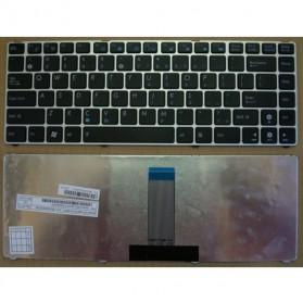 Keyboard Asus EeePC 1201 1215 - Silver - 3