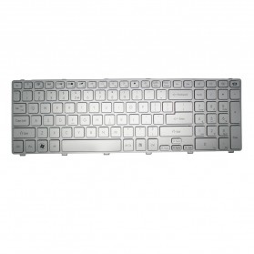 Keyboard Laptop / Notebook - Keyboard Acer Aspire 5755 5830G Series - Silver