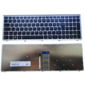 Keyboard Lenovo U510 with Silver Frame - Black