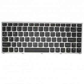 Keyboard Lenovo IdeaPad U460 U460A U460S Series - with Golden Frame - Black