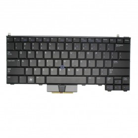 Keyboard Dell Latitude E4310 Backlit US - Black