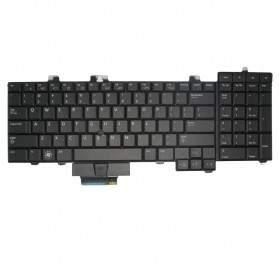 Keyboard Dell Precision M6400 US with Backlite - Black