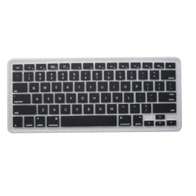 Silicone Keyboard Cover Protector Skin for Macbook Pro 13/15/17 Inch - Black