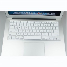 Silicone Keyboard Cover Protector Skin for Macbook Pro 13/15/17 Inch - White