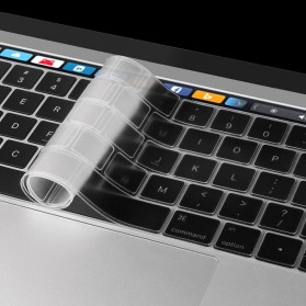 Silicone Keyboard Cover for Macbook Pro 2016 with Touchbar - RV77 - Transparent - 3