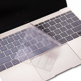 Keyboard Silicone Cover Protector Skin for Macbook 12 Inch / New Macbook 2015 - Transparent