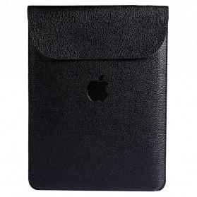 DOWSWIN Sleeve Case Kulit for MacBook Pro Touchbar 13 Inch - SY010 - Black - 2