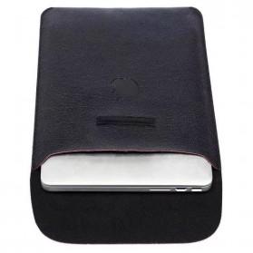 DOWSWIN Sleeve Case Kulit for MacBook Pro Touchbar 13 Inch - SY010 - Black - 5