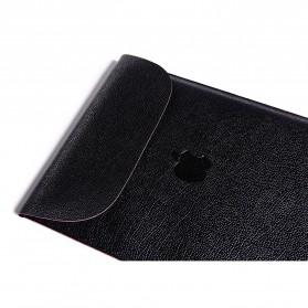 DOWSWIN Sleeve Case Kulit for MacBook Pro Touchbar 13 Inch - SY010 - Black - 7
