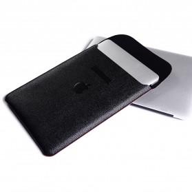 DOWSWIN Sleeve Case Kulit for MacBook Pro Touchbar 13 Inch - SY010 - Black - 8