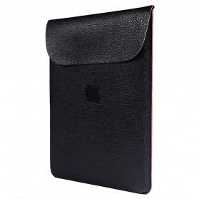 DOWSWIN Sleeve Case Kulit for MacBook Pro Touchbar 13 Inch - SY010 - Black - 9