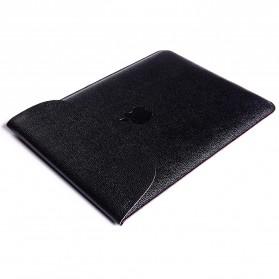 DOWSWIN Sleeve Case Kulit for MacBook Pro Touchbar 13 Inch - SY010 - Black - 10