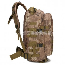Tas Ransel Army Style Hiking Camping Mountaineering Military - A-688 - Gray - 4