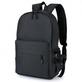 Tas Ransel Laptop Travel Bag with USB Charger Port - RA00035 - Black