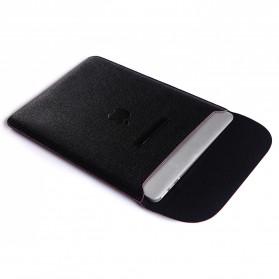 Sleeve Case Kulit for MacBook Pro Touchbar 15 Inch - SY010 - Black