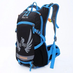 CLEVER BEES Tas Ransel Gunung Hiking Waterproof 18L - L37 - Blue - 1