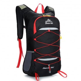 CLEVER BEES Tas Ransel Gunung Hiking Waterproof 35L - L50 - Black