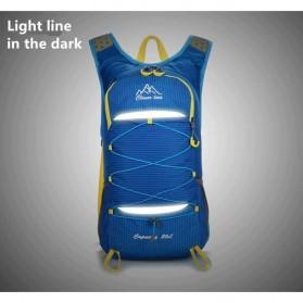 CLEVER BEES Tas Ransel Gunung Hiking Waterproof 35L - L50 - Black - 4